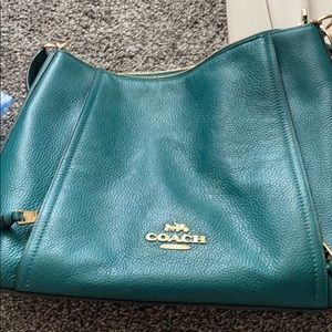 Emerald coach factory outlet bag